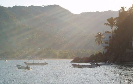 Morning Light On Yelapa