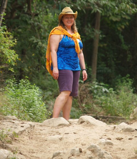 Anne Loving the Dusty Trail